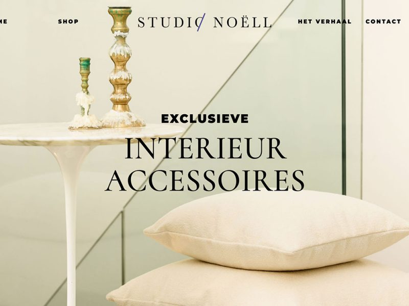 Studio Noëll webshop